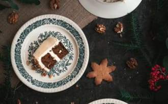 Carrot cake de Noël