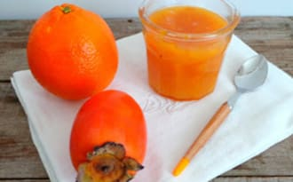 Confiture kakis - oranges
