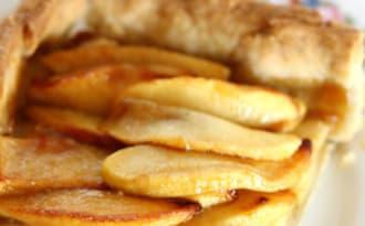 Tarte aux pommes et beurre noisette