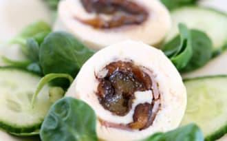 Ballotine de volaille pancetta et pruneaux