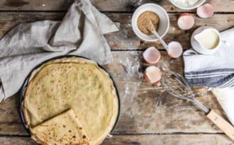 Pâte à crêpes de Pierre Hermé