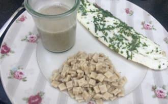 Filets de barbue sauce champignon