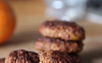 Biscuits kaki orange sarrasin