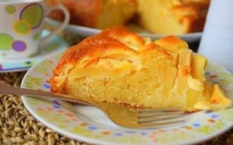 Gâteau mascarpone pomme