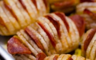 Pommes de terre à la suédoise au chorizo