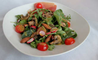 Salade printanière et légère