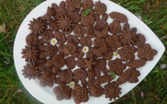 Sablés de Pâques au chocolat