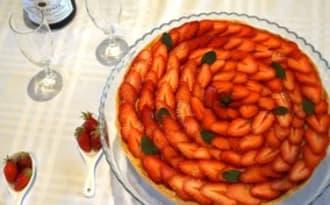Tarte aux fraises, tout simplement