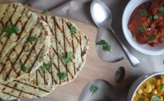Les pains galettes faciles de Jamie Oliver, avec une touche d'ail des ours