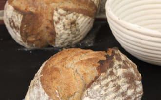 Le pain de campagne sur levain