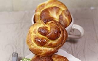 Petits pains au lait à la fleur d'oranger