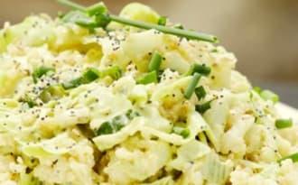 Légumes et quinoa, sauce andalouse