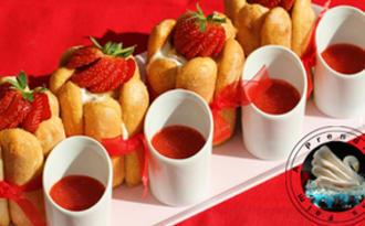 Charlotte aux fraises individuelles en vidéo