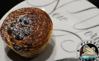 Cruffin au Nutella