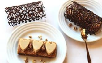 Dentelles en chocolat