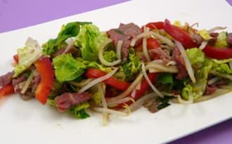 Salade de bœuf thaï