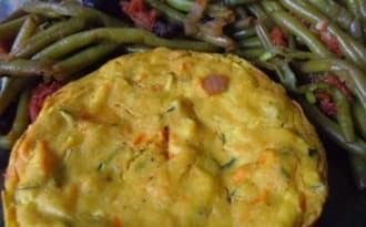 Tortillas espagnoles vegan à la courgette