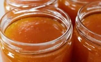 Confiture d'abricots à la verveine citonnelle -