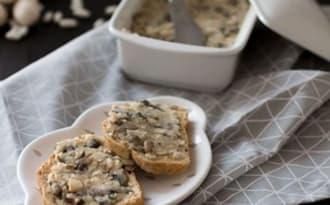 Paté végétal haricots blancs et champignons