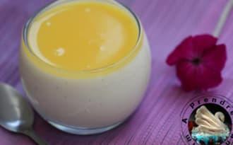 Entremet carré frais vanille citron