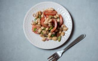 Salade de haricots coco de Paimpol