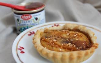 Tarte aux pommes et crème de marrons