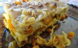 Lasagnes vegan à la butternut