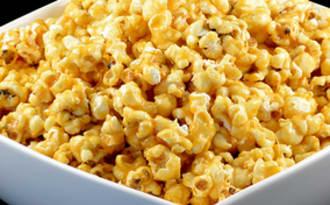 Popcorn au caramel maison