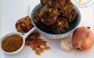 Boulettes de viande àl'orientale