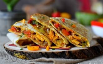 Les quesadillas mexicains