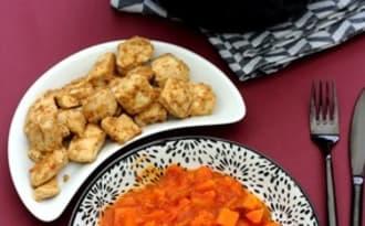 Curry de patate douce et légumes d'hiver