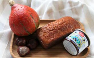 Cake moelleux crème de marrons et potimarron