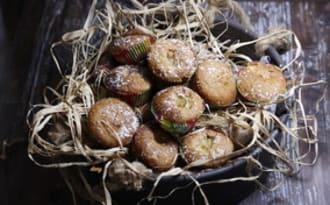 Muffins coco à la banane et aux épices