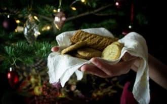 Biscuits de Noël au thé Earl Grey