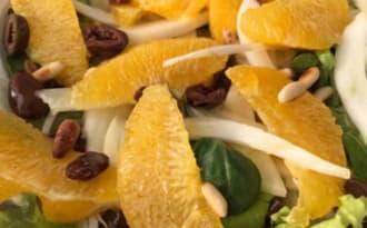 Salade sicilienne oranges et fenouil
