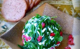 Boule de Noël au fromage