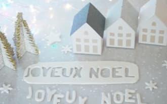 Déco de Noël facile en pâte à sucre