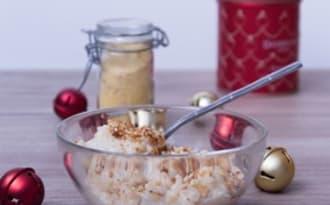 Riz au lait aux épices de Noël