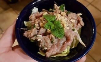 Carpaccio de bœuf vietnamien