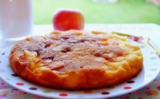 Gâteau aux pommes express