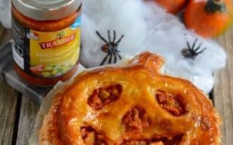 Citrouille feuilletée d'Halloween