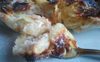 Gâteau au pommes et aux amandes