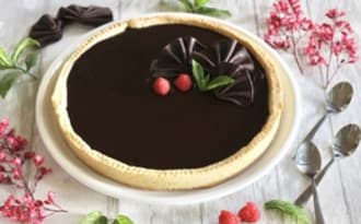 Tarte très chocolat