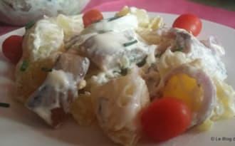 Salade au hareng et pommes de terre