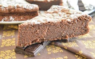 Gâteau au chocolat ultra moelleux à coeur