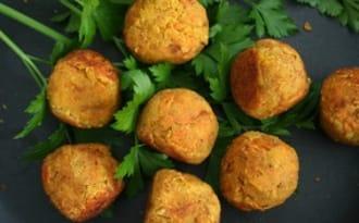 Boulettes aux lentilles corail et aux carottes