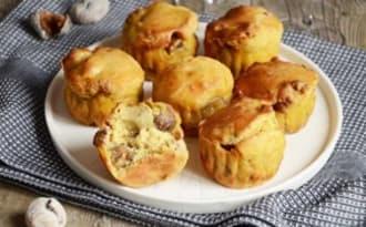 Muffins foie gras châtaignes