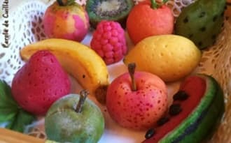 Fruits en massepain