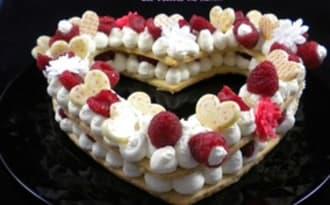 Un heart cake pour la Saint-Valentin