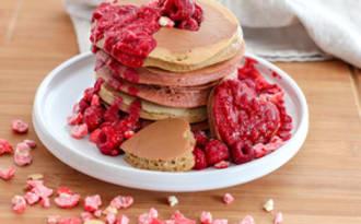 Pancake à la farine de châtaigne